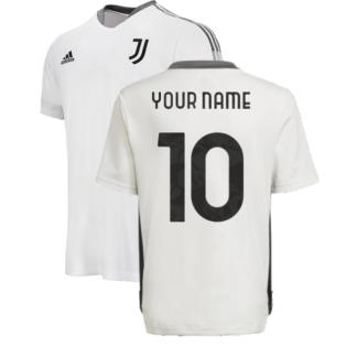 2021-2022 Juventus Training Shirt (White) - Kids (Your Name)