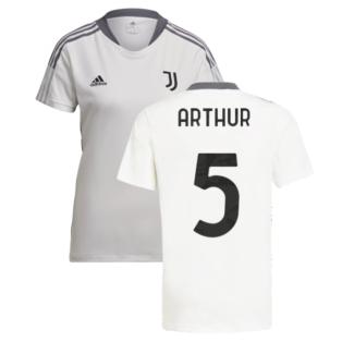 2021-2022 Juventus Training Shirt (White) - Ladies (ARTHUR 5)