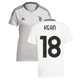 2021-2022 Juventus Training Shirt (White) - Ladies (KEAN 18)
