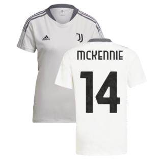 2021-2022 Juventus Training Shirt (White) - Ladies (McKENNIE 14)