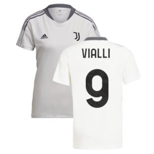 2021-2022 Juventus Training Shirt (White) - Ladies (VIALLI 9)