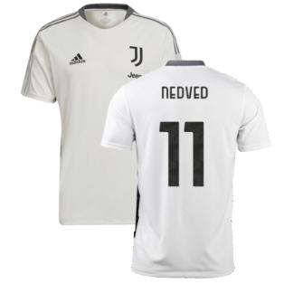 2021-2022 Juventus Training Shirt (White) (NEDVED 11)