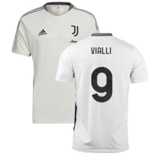 2021-2022 Juventus Training Shirt (White) (VIALLI 9)