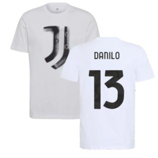 2021-2022 Juventus Training T-Shirt (White) (DANILO 13)