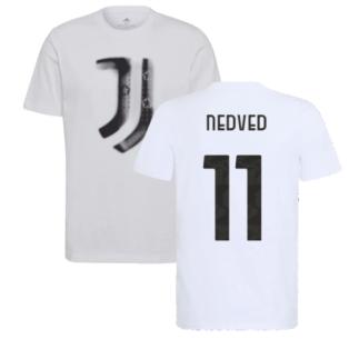 2021-2022 Juventus Training T-Shirt (White) (NEDVED 11)