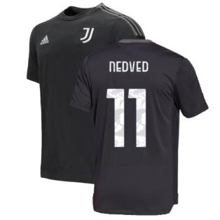 2021-2022 Juventus Training Tee (Carbon) (NEDVED 11)