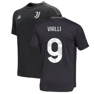 2021-2022 Juventus Training Tee (Carbon) (VIALLI 9)