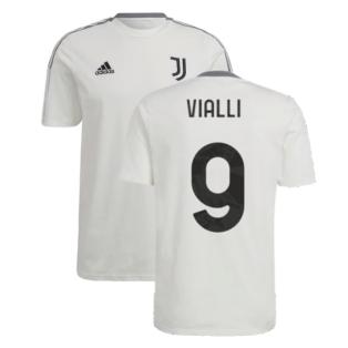 2021-2022 Juventus Training Tee (White) (VIALLI 9)
