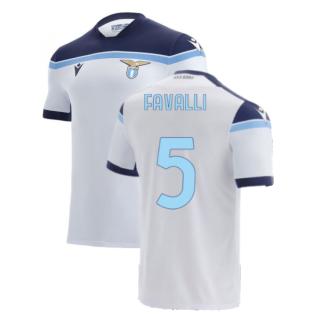 2021-2022 Lazio Away Shirt (FAVALLI 5)