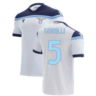 2021-2022 Lazio Away Shirt (Kids) (FAVALLI 5)