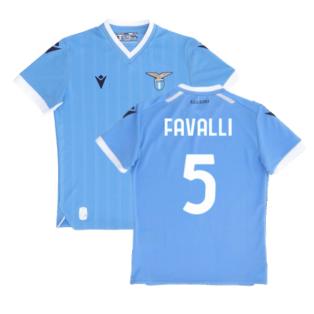 2021-2022 Lazio Home Shirt (Kids) (FAVALLI 5)