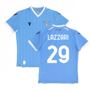 2021-2022 Lazio Home Shirt (Kids) (LAZZARI 29)