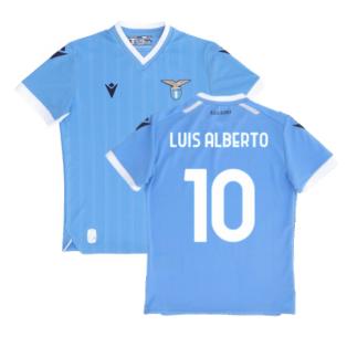 2021-2022 Lazio Home Shirt (Kids) (LUIS ALBERTO 10)