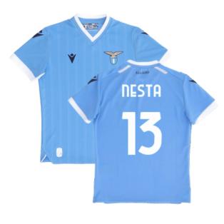2021-2022 Lazio Home Shirt (Kids) (NESTA 13)