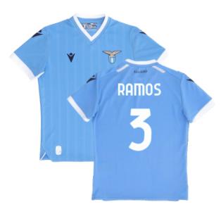 2021-2022 Lazio Home Shirt (Kids) (RAMOS 3)