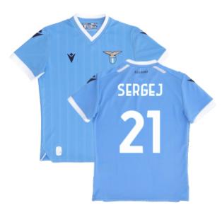 2021-2022 Lazio Home Shirt (Kids) (SERGEJ 21)