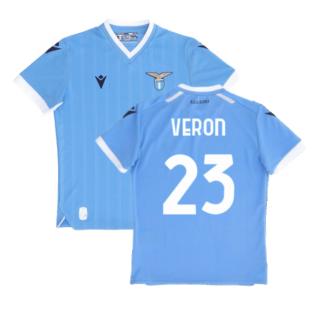 2021-2022 Lazio Home Shirt (Kids) (VERON 23)