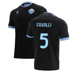 2021-2022 Lazio Third Shirt (FAVALLI 5)