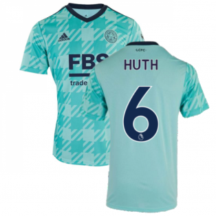 2021-2022 Leicester City Away Shirt (HUTH 6)