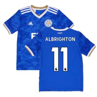 2021-2022 Leicester City Home Shirt (Kids) (ALBRIGHTON 11)