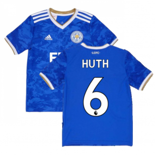 2021-2022 Leicester City Home Shirt (Kids) (HUTH 6)