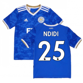 2021-2022 Leicester City Home Shirt (Kids) (NDIDI 25)