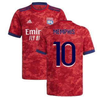 2021-2022 Lyon Away Shirt (Kids) (MEMPHIS 10)
