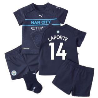 2021-2022 Man City 3rd Baby Kit (LAPORTE 14)