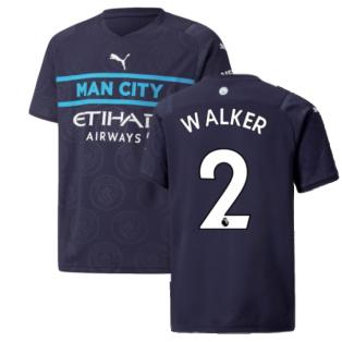 2021-2022 Man City 3rd Shirt (Kids) (WALKER 2)