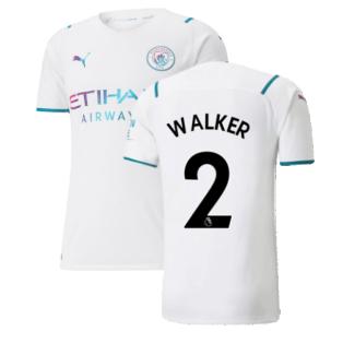 2021-2022 Man City Authentic Away Shirt (WALKER 2)