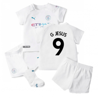 2021-2022 Man City Away Baby Kit (G JESUS 9)