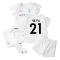 2021-2022 Man City Away Baby Kit (SILVA 21)