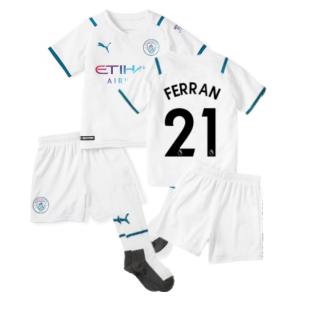 2021-2022 Man City Away Mini Kit (FERRAN 21)