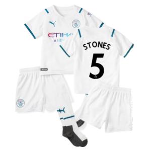 2021-2022 Man City Away Mini Kit (STONES 5)