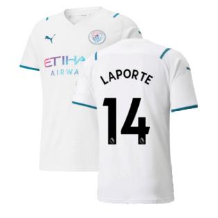 2021-2022 Man City Away Shirt (LAPORTE 14)