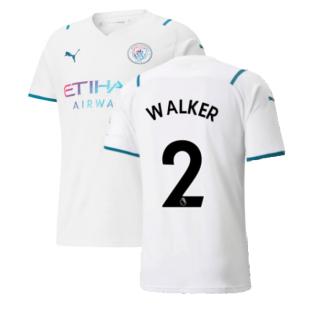 2021-2022 Man City Away Shirt (WALKER 2)