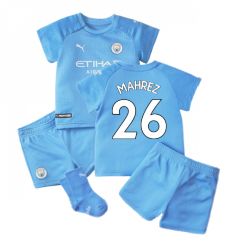 2021-2022 Man City Home Baby Kit (MAHREZ 26)