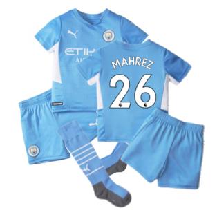 2021-2022 Man City Home Mini Kit (MAHREZ 26)
