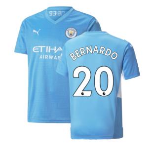 2021-2022 Man City Home Shirt (Kids) (BERNARDO 20)