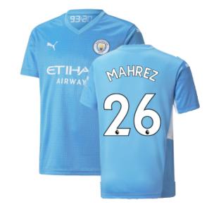 2021-2022 Man City Home Shirt (Kids) (MAHREZ 26)