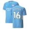 2021-2022 Man City Home Shirt (RODRIGO 16)
