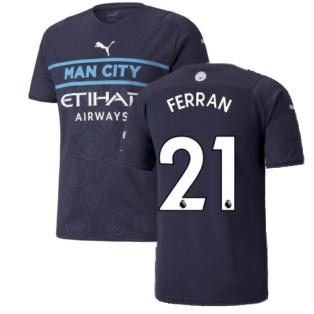 2021-2022 Man City Third Shirt (FERRAN 21)