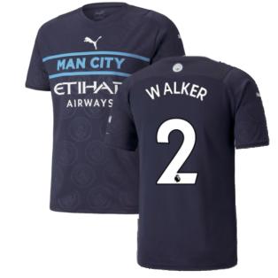 2021-2022 Man City Third Shirt (WALKER 2)