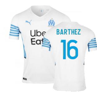 2021-2022 Marseille Authentic Home Shirt (BARTHEZ 16)