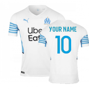 2021-2022 Marseille Authentic Home Shirt (Your Name)