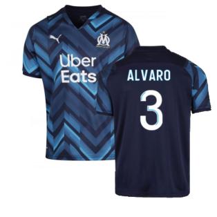 2021-2022 Marseille Away Shirt (ALVARO 3)