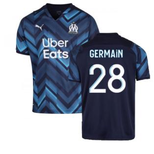 2021-2022 Marseille Away Shirt (GERMAIN 28)