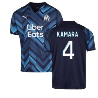 2021-2022 Marseille Away Shirt (KAMARA 4)
