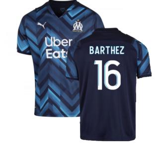 2021-2022 Marseille Away Shirt (Kids) (BARTHEZ 16)