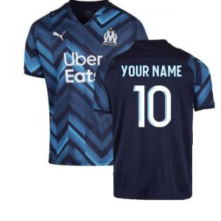 2021-2022 Marseille Away Shirt (Kids) (Your Name)